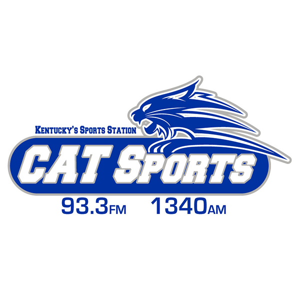 Cat Sports 93.3 FM and 1340 AM Logo