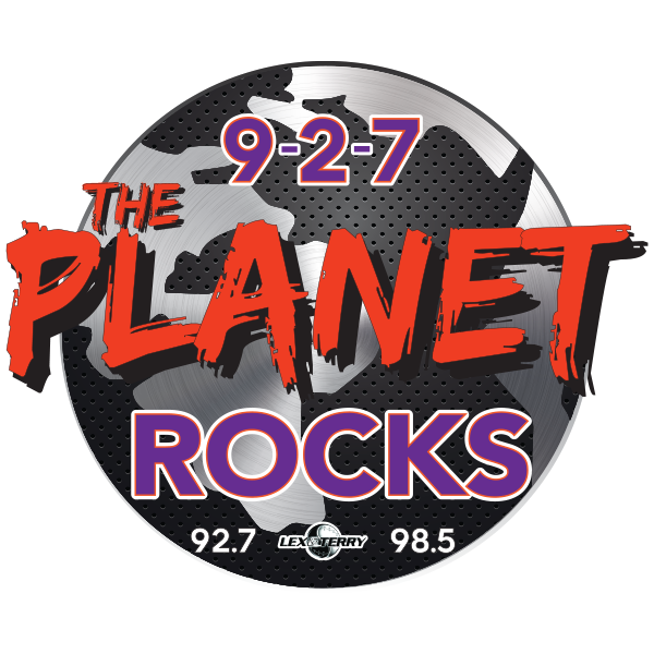 9-2-7 and 98.5 The Planet Logo